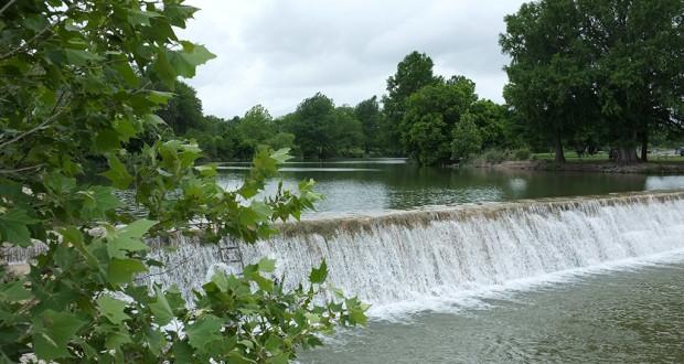 Blanco River spillway